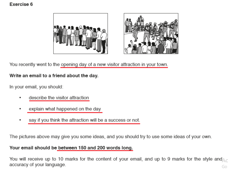 Writing: Exercise 5 (Letter writing) – IGCSE AID