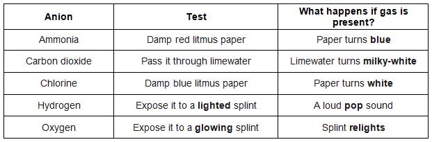 gas test